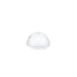 Coperchio Monouso Bombato con fessura In Pet Cm 8,3