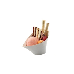 Coppetta biodegradabile Jenny in polpa di cellulosa cm 12x9x8