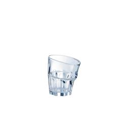 Bicchiere Pop Corn in vetro trasparente cl 27