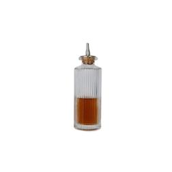 Dash bottle Roman Column in vetro con tappo in sughero cl 14