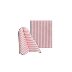 Tovagliolo Capri in cellulosa bianca e rossa cm 30x40