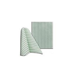 Tovagliolo Capri in cellulosa bianca e verde cm 30x40