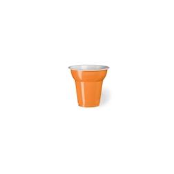 Bicchiere monouso Fiesta in plastica arancione cl 7