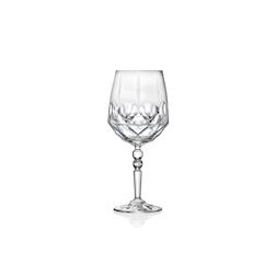Calice Alkemist Luxion Cocktail RCR in vetro decorato cl 66,7