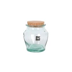 Barattolo Honey in vetro riciclato con tappo in sughero kg 1,450