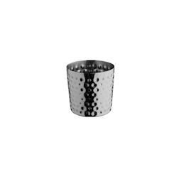 Bicchiere appetiser in acciaio inox martellato cm 8,5 cl 41