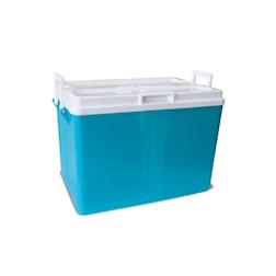 Frigo bar Iceberg in plastica azzurra lt 52