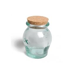 Barattolo Honey In Vetro Riciclato Con Tappo In Sughero Kg 1,030