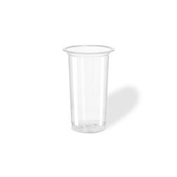 Bicchiere monouso Tubo in pet trasparente cl 30