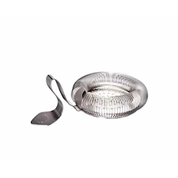 Throwing Strainer con manico curvo in acciaio inox cm 14,2