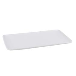 Vassoio rettangolare Hyatt in porcellana bianca cm 28x15