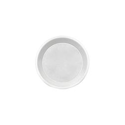 Piatto monouso pizza Joy in plastica bianca cm 32