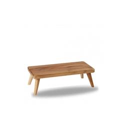 Alzata Buffetscape Churchill in legno di acacia marrone cm 33,5x15,5x10,6