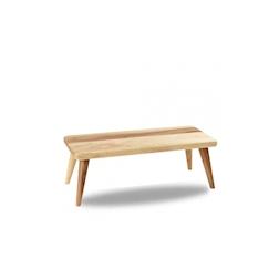 Alzata Buffetscape Churchill in legno di acacia marrone cm 42,7x18,4x15,5