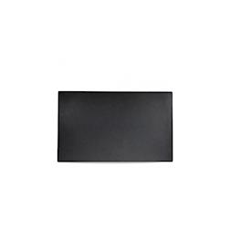Vassoio Linea Buffet Churchill rettangolare in melamina nera cm 53x32,5
