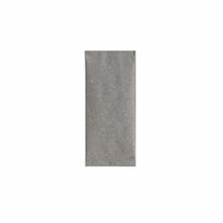 Busta porta posate in cartapaglia grigia cm 11x25
