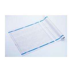 Tovagliolo Servizio Roll-Drap in microfibra con bordo blu cm 40x40