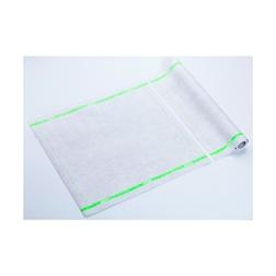 Tovagliolo Roll-Drap in microfibra con bordo verde cm 40x40