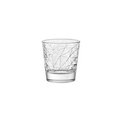 Bicchiere Dolomiti vino Vidivi in vetro lavorato cl 29