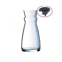 Tappo per caraffa Fluid Arcoroc in plastica grigia