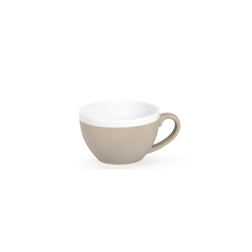 Tazza cappuccino CoffeeCo senza piatto in porcellana tortora cl 23