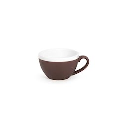 Tazza cappuccino CoffeeCo senza piatto in porcellana marrone cl 23