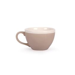 Tazza colazione CoffeeCo senza piatto in porcellana tortora cl 30