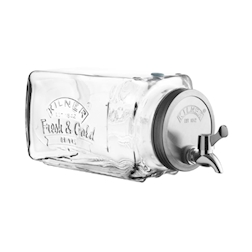 Dispenser Glass Fridge Kilner con rubinetto lt 3