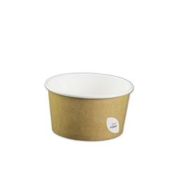 Ciotola Duni per zuppa in cartone marrone cl 40