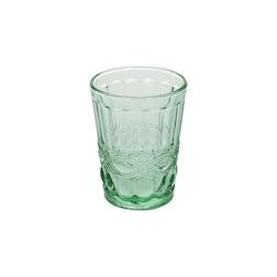 Bicchiere Solange in vetro verde cl 26,5