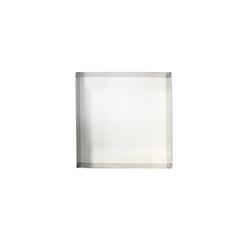 Stampo quadro in acciaio inox cm 18x18