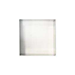 Stampo quadro in acciaio inox cm 22x22