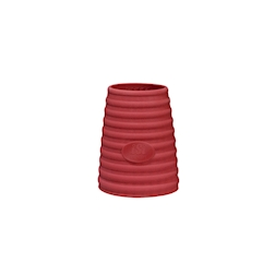 Cover Termica per sifoni Gourmet Isi lt 1 in silicone rosso