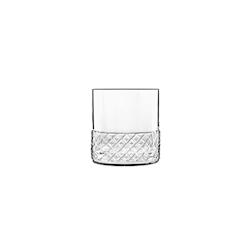 Bicchiere dof Roma 1960 Bormioli Luigi in vetro trasparente cl 38
