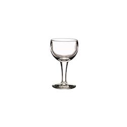 Calice vino rosso ballon in vetro trasparente cl 14