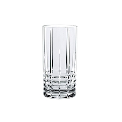 Bicchiere Straight Highland long drink in vetro trasparente cl 44,5