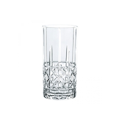Bicchiere Diamond Highland long drink in vetro trasparente cl 44,5