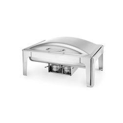 Scaldavivande chafing dish gastronorm 1/1 in acciaio inox lt 9