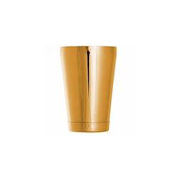 Shaker boston tin Ginza bilanciato in acciaio dorato cl 57