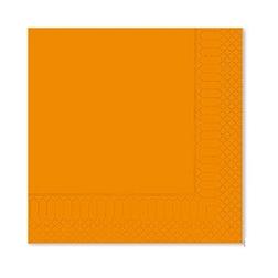 Tovagliolo 2 veli in cellulosa arancione cm 25x25