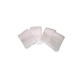 Tovaglioli monovelo in carta bianca cm 17x17