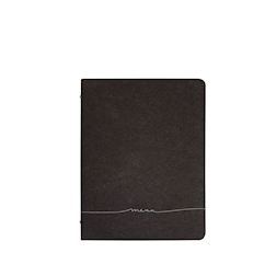 Porta menù Skin A4 Etichetta Menù in fibra di cellulosa marrone cm 31,5x24