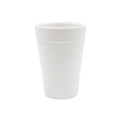 Bicchiere tazza in melamina bianca cl 48