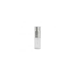 Bottiglietta spray per polvere 100% Chef in plastica con tappo argento