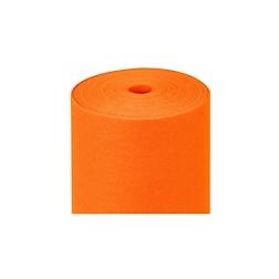 Rotolo tovaglia pretagliato in tnt Spundbond arancione mt 50,4x1,20
