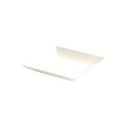 Piattino monouso Pratiko in PLA bianco cm 9x9