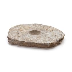 Piatto Meteorite 100% Chef in pietra cm 21x17x2