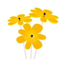 Fiore Nea Friend Cazador del Sol giallo cm 25x8