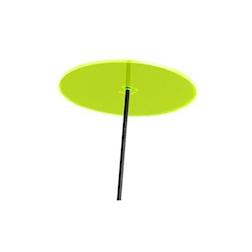 Fiore Disco Uno Cazador del Sol verde cm 175x20
