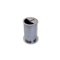 Contenitore pulisci coltelli in acciaio inox cm 18